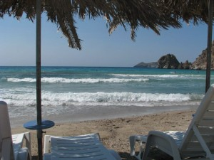Plaža Platiena (Grčka, Milos)