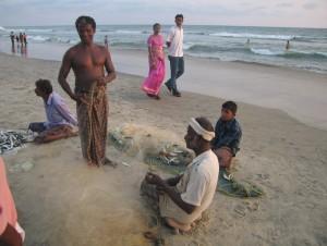 Juzna Indija, plaža Varkala