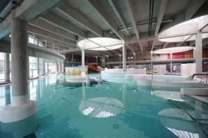 Akvapolis veliki welness bazen sa podvodnim masažama
