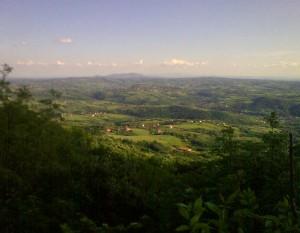 Pogled na Kosmaj i Šumadiju