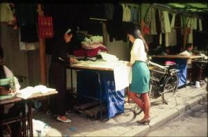 Kina, Chengdu  ulica krojaca