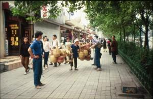 Kina, Chengdu ulica