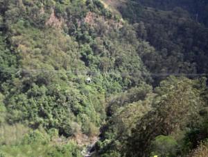 Kanjon i žičara na Maderi