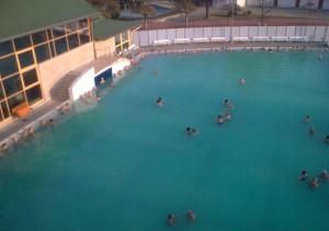 Harkanji: termalni bazen 34C