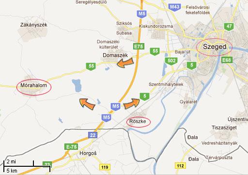morahalom banja mapa Oko Putovanja » Segedin: informacije o prevozu, linkovi, mape morahalom banja mapa