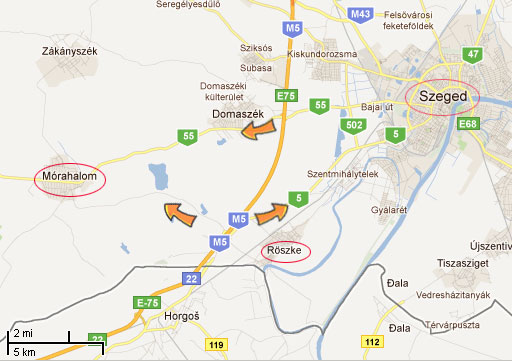 beograd segedin mapa Oko Putovanja » Segedin: informacije o prevozu, linkovi, mape beograd segedin mapa