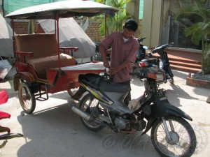Nas taxi za obilazak angkor hramova