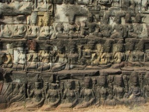 Angkor - reljef