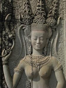 Jos jedna lepotica na zidovima Angkora