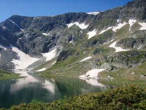 Jezero Blizanci
