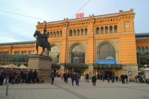 Ispred glavne Železničke stanice
