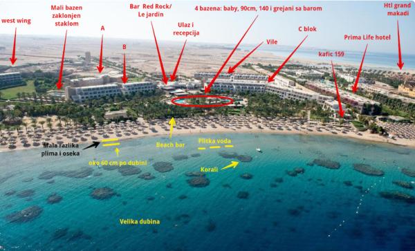 Fort Arabesque iz aviona