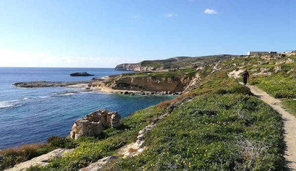 Gozo - pesacka staza uz obalu. Vidici zbog kojih smo ovde dosli :)
